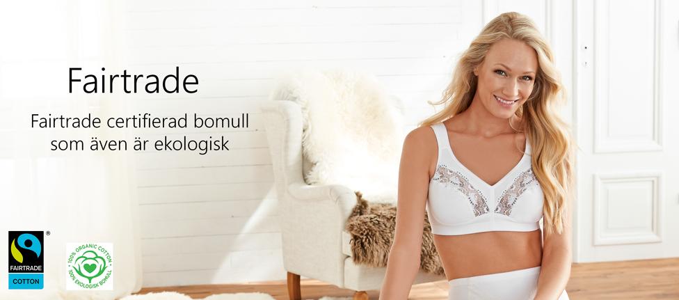 Fairtrade, ekologisk bomull - Swegmark of Sweden